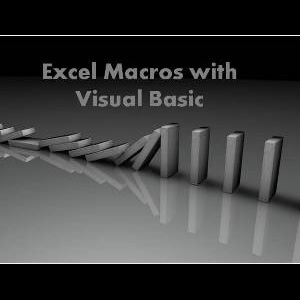 Writing Excel Macros with VBA Course