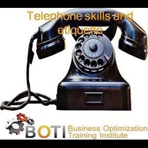 Telefoon vaardighede en etiket opleiding kursus