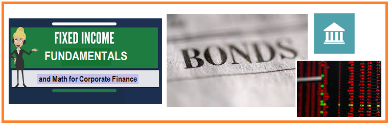 This two part module is an introduction to fixed income fundamentals and the principal products and players involved in the fixed income markets and shows the points covered using real market data and examples of the most frequently used Bloomberg screens for bonds.