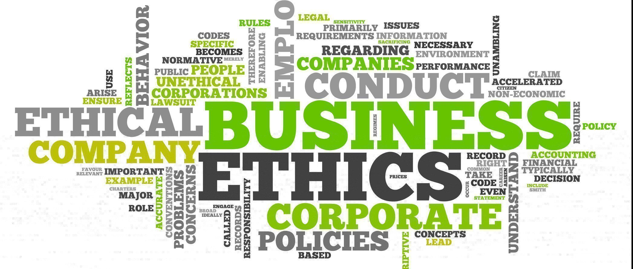 organizational ethics and code of conduct